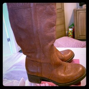 Brown leather Lucky Brand boots